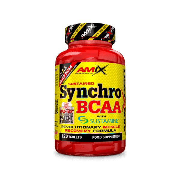 Synchro BCAA Plus Sustamine 120 tabletas