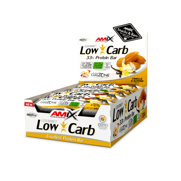 Amix™ Low-Carb 33% Protein Bar 15x60gr