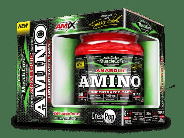 anabolic amino con creapep 250 tabs