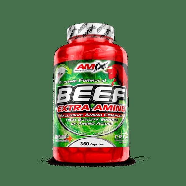 beef extra amino 360 cápsulas