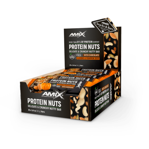 Amix™ Protein Nuts Bar