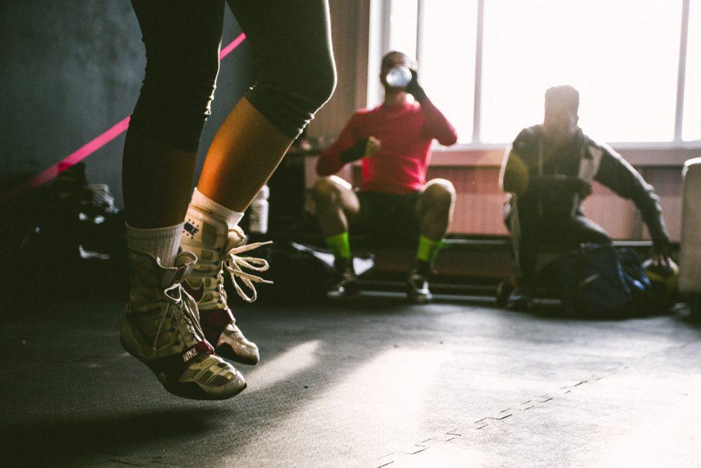 ejercicios con saltos