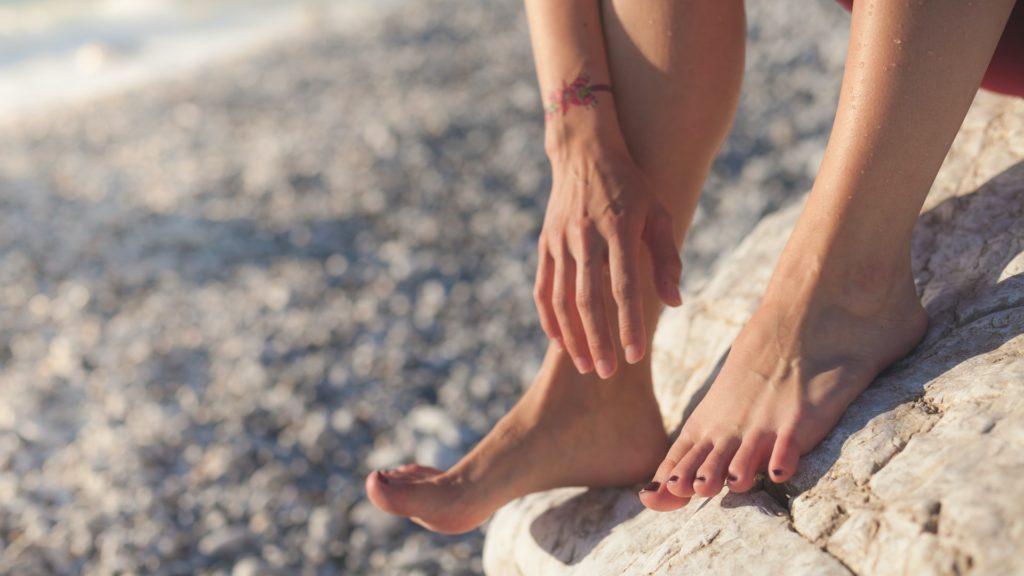 cuidar los pies