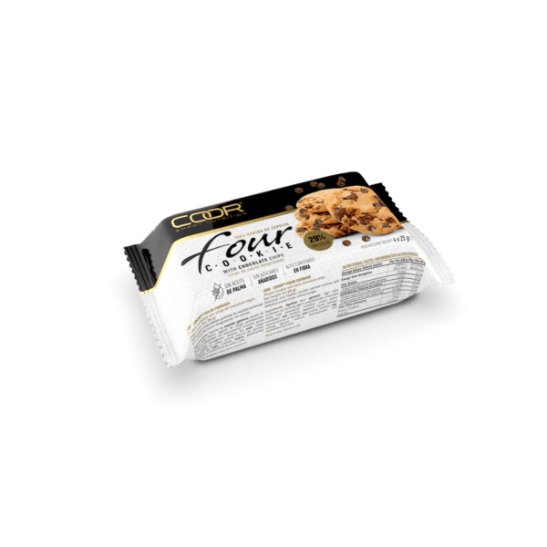 Coor Four Cookie 4x25 chocolate negro