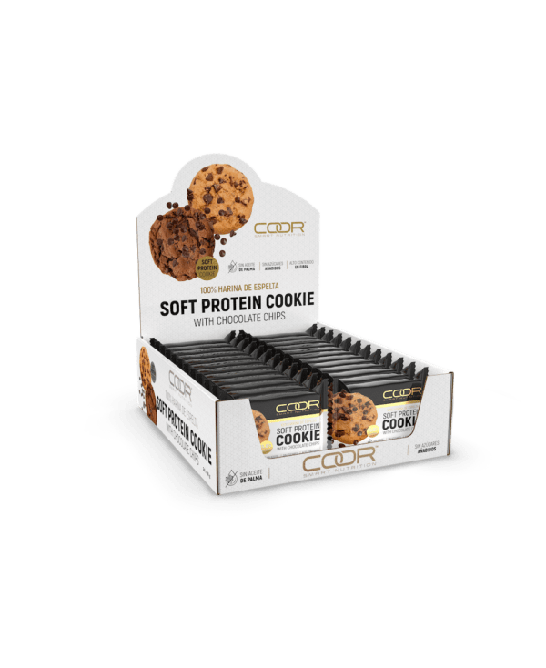 expositor coor soft protein cookie chocolate