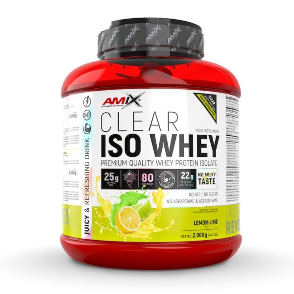 clear iso whey 2000g lima limon
