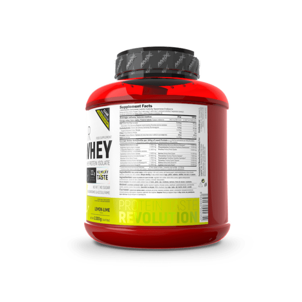 clear iso whey lima limon