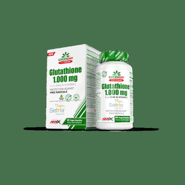 60 capsulas de glutathione