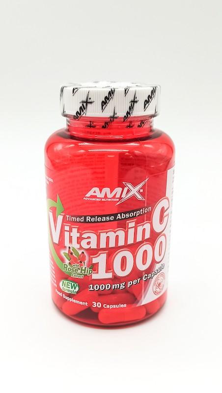 vitamina c 30 cápsulas